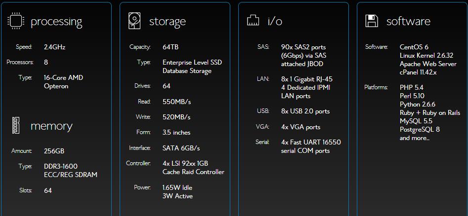 bluehost server configuration