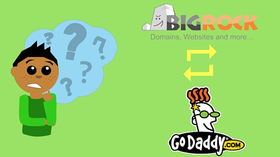 Bigrock vs Godaddy