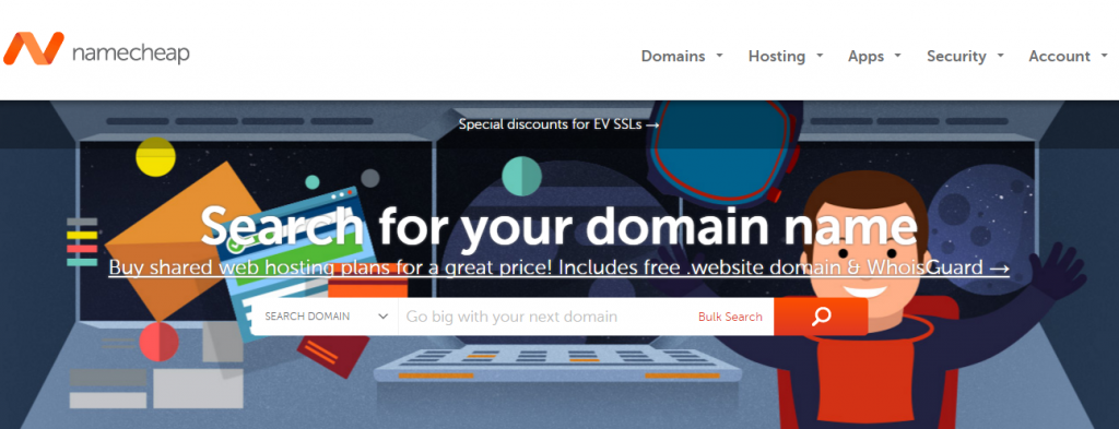 Namecheap as a godaddy domain name registration alternative