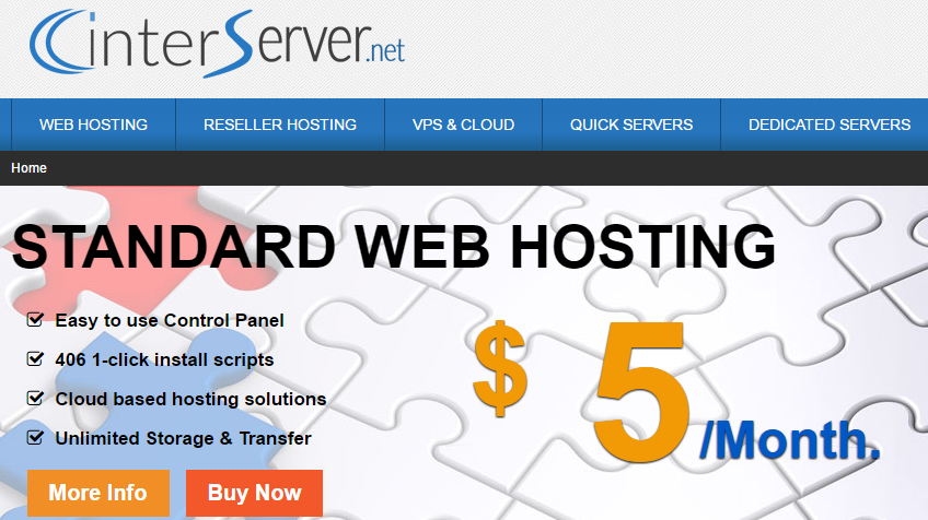 Interserver as an alternative to Godaddy windows hosting services