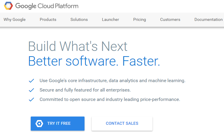Google Cloud AWS Alternative