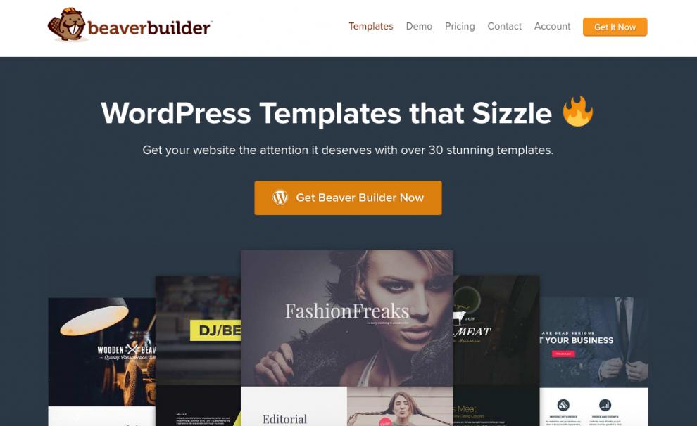 BeaverBuilder WordPress Landing Pages Plugin