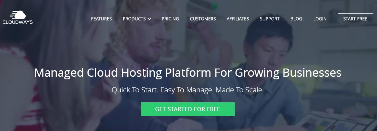 Cloudways Managed Google Cloud Hosting Platform For WordPress