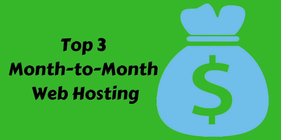month to month web hosting