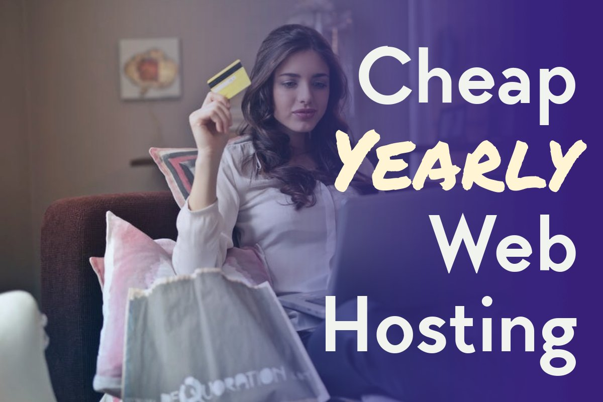 cheap yearly web hosting