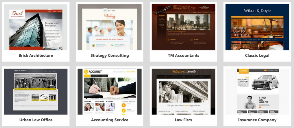 Website Builder Business Templates