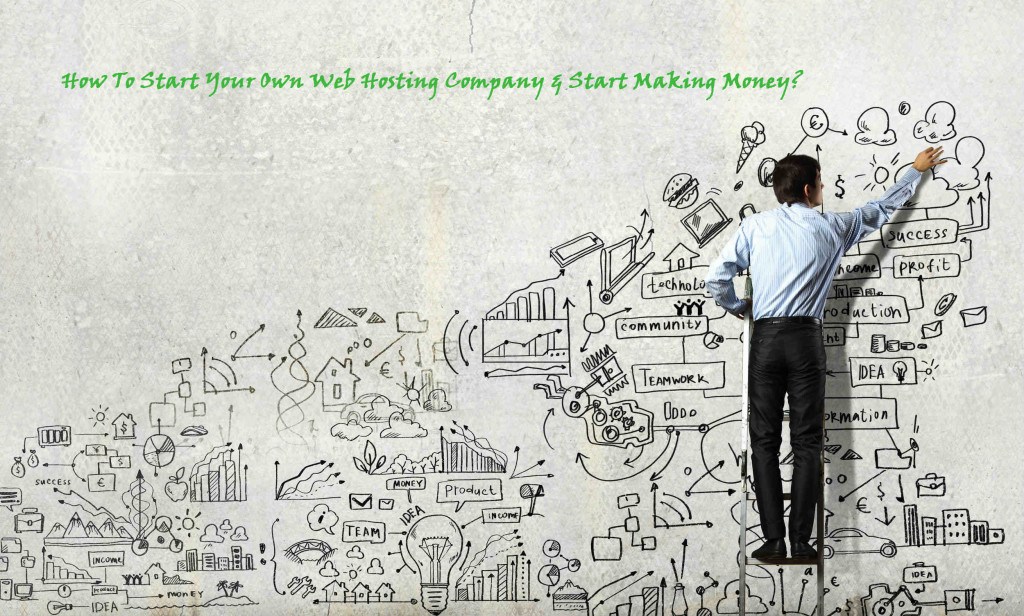 start web hosting company