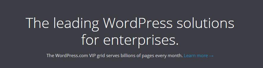 WordPress VIP Enterprise WordPress Hosting