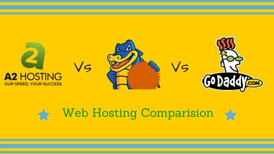 a2hosting vs godaddy vs hostgator