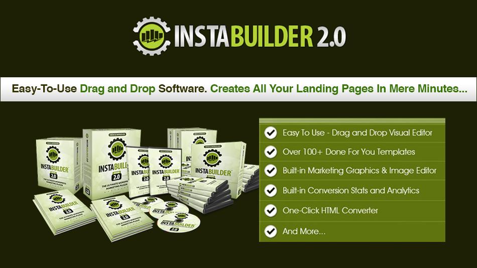 InstaBuilder WordPress Landing Page Plugin