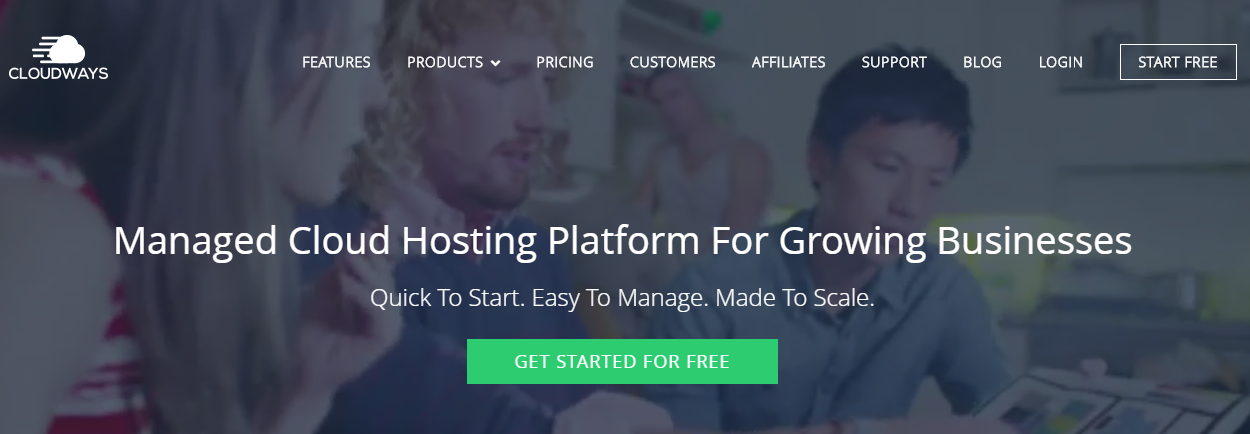Cloudways Managed Google Cloud Hosting Platform For WordPress
