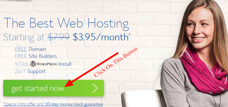 buy web hosting for food blog