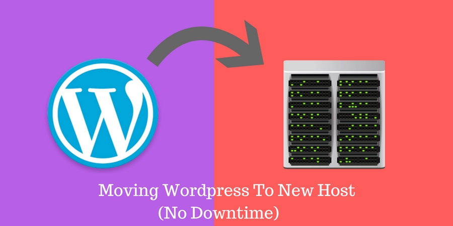 How to move wordpress blog to a new host with no downtime
